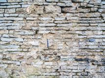 Texture de mur en pierre de brique image stock