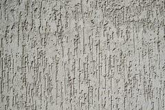 Texture de mur gris de plâtre Photographie stock