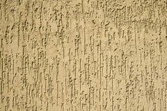 Texture de mur jaune de plâtre Image stock