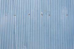 Texture de mur de zinc pour le fond Photo libre de droits