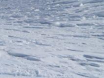 Texture de neige Photos stock