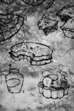Texture de nourriture et de boissons Photos libres de droits