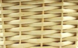 Texture de panier en osier Images stock