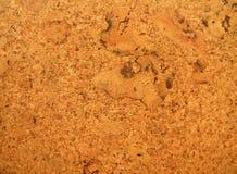 Texture de panneau de liège Photo libre de droits