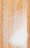 Texture de panneau en bois Photos stock