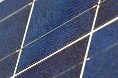 Texture de panneau solaire Photo stock