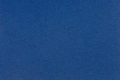 Texture de papier bleu pour le fond, structure détaillée Photo stock