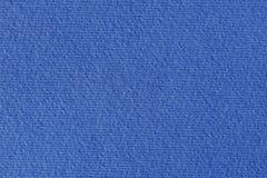 Texture de papier bleu sur le macro Images stock