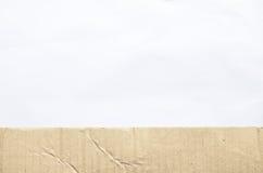 Texture de papier brute Photographie stock