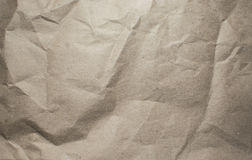 Texture de papier chiffonné photographie stock libre de droits