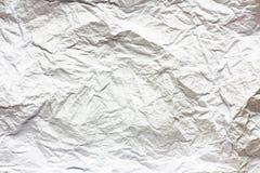 Texture de papier chiffonnée Photographie stock