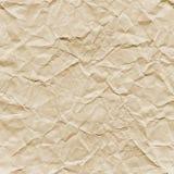 Texture de papier chiffonnée Photo libre de droits