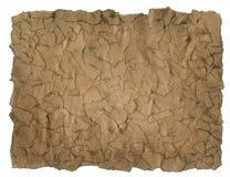 Texture de papier déchirée par cru Image stock