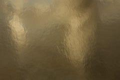 Texture de papier d'or Images stock