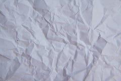 Texture de papier, de blanc texture de papier désastreusement Images stock