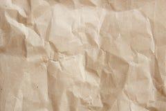 Texture de papier de Brown Images stock