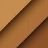 Texture de papier de carton de vecteur Photographie stock