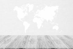 Texture de papier de carton, processus dans la couleur blanche avec le terra en bois Photos libres de droits