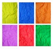 Texture de papier de couleur Photo libre de droits