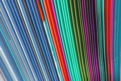 Texture de papier de dossiers Photographie stock libre de droits