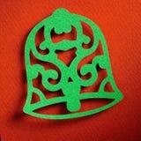 Texture de papier de fond de Noël, thème de papercraft Image stock
