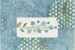Texture de papier de mûre Images stock