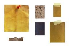 Texture de papier de note Image libre de droits