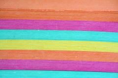 Texture de papier de note de couleur Images libres de droits