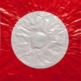 Texture de papier de papier chiffonné Image stock