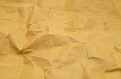 Texture de papier de pli Image stock
