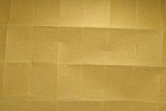 Texture de papier de pli Photos stock