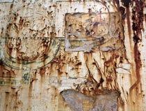 Texture de papier de rouille Image libre de droits