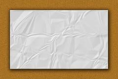 Texture de papier. Feuille de livre blanc. Images stock