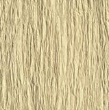 Texture de papier goffered jaune pâle Images libres de droits
