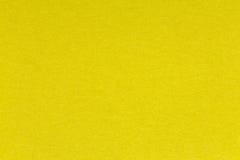 Texture de papier jaune-clair Images libres de droits
