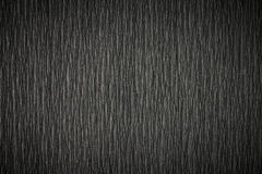 Texture de papier noire chiffonnée Photo stock