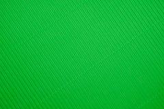 Texture de papier ondulé de couleur verte Photographie stock libre de droits
