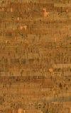 Texture de papier peint de liège Photo libre de droits