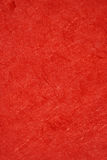 Texture de papier rouge Photo libre de droits