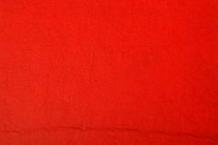Texture de papier rouge Photos stock