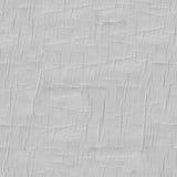 Texture de papier tileable sans joint ridée Photographie stock