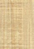 Texture de papyrus Images libres de droits