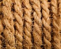 Texture de paquet de corde Photos stock