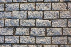 Texture de pavé de granit abrégez le fond Photos stock