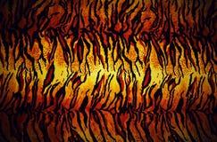 Texture de peau de tigre Photo stock