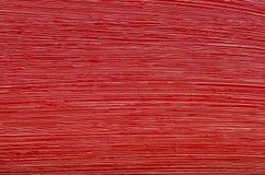 Texture de peinture à l'huile rouge de pinceau Photographie stock libre de droits