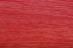 Texture de peinture à l'huile rouge de pinceau Photos stock