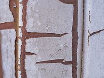 Texture de peinture d'épluchage Images libres de droits