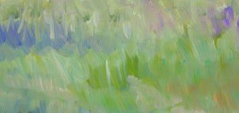 Texture de peinture d'herbe verte Photographie stock