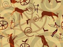 Texture de peinture de roche Image libre de droits